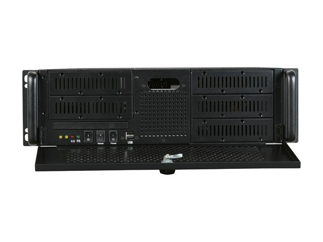 """RM-3055 3U Rackmount Case 5 Open 5.25"""" Bays and 320W Power Supply"""