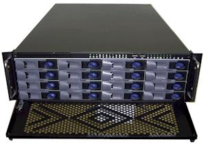 RM-3390M 16 SATA Removable Hotswap Trays 3U Rack Mount Case GHI-390