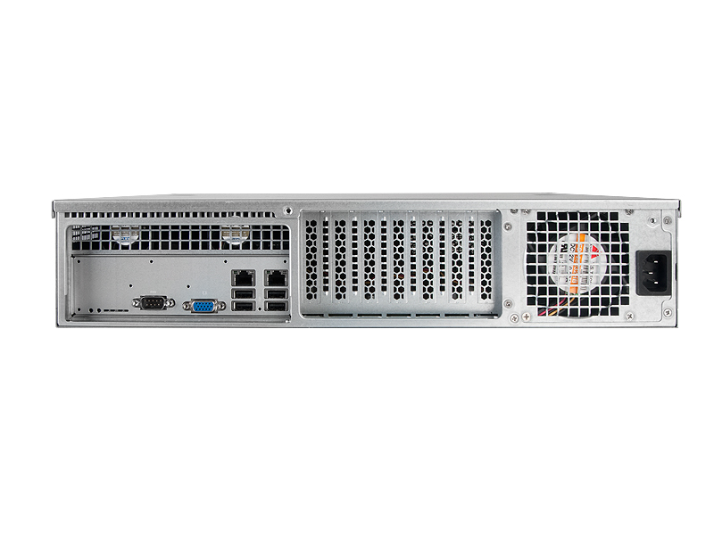CHENBRO RM24100-L 2U Rackmount 18inch 2.5/3.5inch HDD Server Chassis