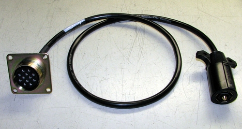 Military Trailer Adapter Cable (Military Trailer on a Civilian Vehicle), X-6034