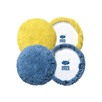 Cyclo 4 Inch Hook & Loop Wool Pads
