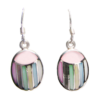 mother of pearl sterling silver earrings mop jewelry
