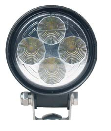 SoundOff Signal 3.3 Inch Round 500 Lumen LED Work Light