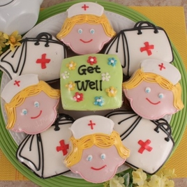 Get Well Doctor Bag Cookies