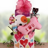 Smooch a Pooch Valentine Dog Gift