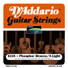 D'Addario EJ15 Phosphor Bronze Acoustic Guitar Strings Extra Light .010 - .047