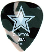 Steve Clayton Camoflauge Guitar Picks - 2 for $.99