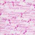 Breast Cancer Words  C7659