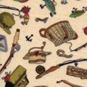 Tossed Fishing Gear by Timeless Treasure