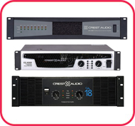 Crest Audio Amplifiers