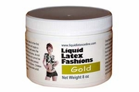 Metallic Liquid Latex 8 Ounce