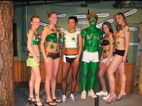A Saint Patricks Day Liquid Latex Body Paint Party Kit!