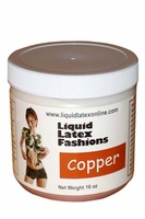 Metallic Liquid Latex 16 Ounce