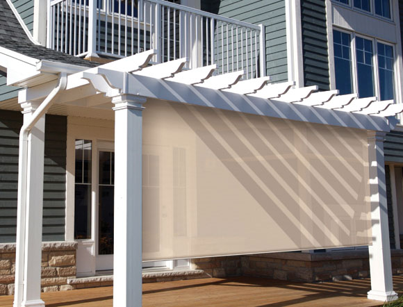 ... Coolaroo Sun Shades 10u0027 (10 Foot) Premier Series Patio Shade Blinds ...