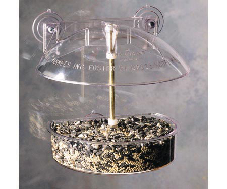 Droll  Dome Window Bird Feeder