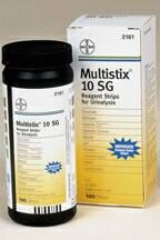 Multistix 10 SG Urine Test Strip