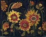 Sunflowers by Sharon Smith- Pattern Only or Complete Rug Hooking Kit