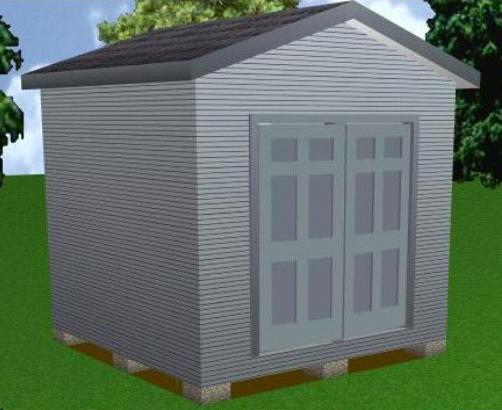 Great 10x10 Storage Shed Plans Package, Blueprints, Material List U0026 Instructions