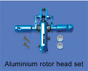 Aluminium rotor head set