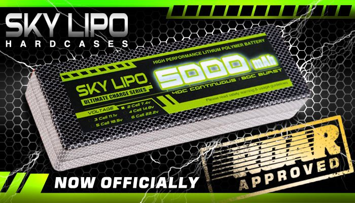 Sky LiPo ROAR Approved