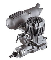 S32AII ASP 2-Stroke Glow Engine with Muffler for Airplane