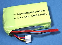 NEW! LiPo battery pack for <b>Esky Honey Bee King</b> size RC helicopters