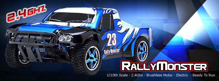 Rally Monster Electric Car