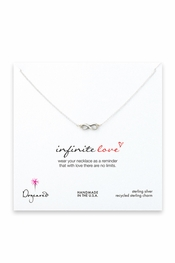 Dogeared Jewelry Infinite Love Sterling Silver Necklace