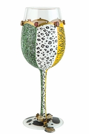 Lolita Wild Side Wine Glass