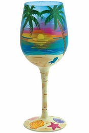 Lolita Tropical Wine Glass