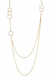 Charlene K Multiple Circle Necklace