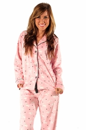 PJ Salvage Puppy Polar Fleece Pajama Set