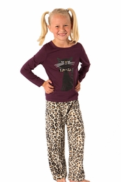 PJ Salvage Kids Cat Pajamas