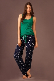 PJ Salvage Stars Plush Polar Pant