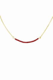 Charlene K Coral Gemstone Necklace