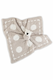 Barefoot Dreams Stone Dream CozyChic Mini Blanket Buddy