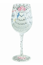 Lolita Bride Wine Glass