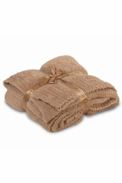 Barefoot Dreams BambooChic Camel Throw