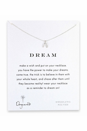Dogeared Jewelry Dream Sterling Silver Necklace