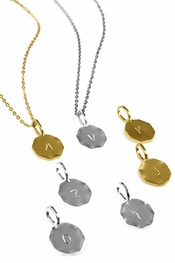 Charlene K A-Z Initial Necklace