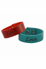 Dillon Rogers Love Leather Bracelets
