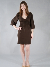 Ella Moss Abigail Brown Dress
