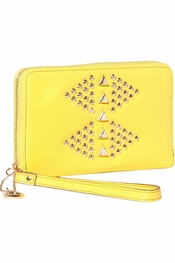 Big Buddha Heather Yellow Wallet/Clutch