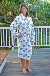 PJ Salvage Hearts Fashion Robe