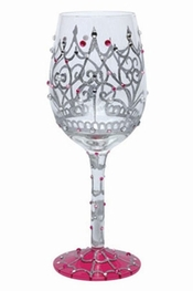Lolita My Tiara Wine Glass