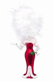 Lolita Holiday Diva Mercury Glass Ornament