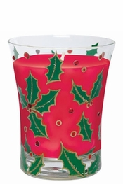 Lolita Holly Berry Filled Candle
