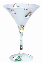 Lolita Snow Divas Martini Glass