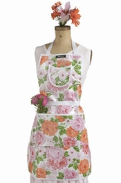 Gloveables Peachy Rose Apron