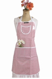 Gloveables Pink Gingham Apron